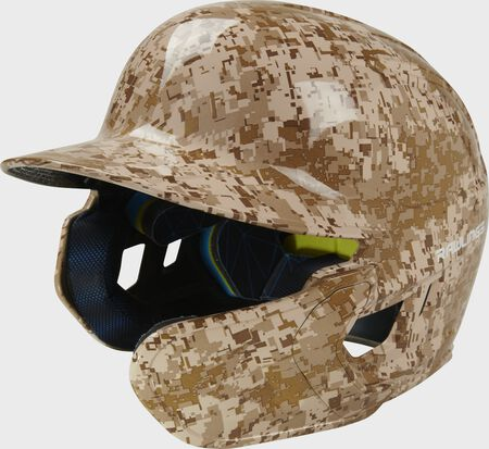 Mach EXT Digi Camo Hydro Dipped Helmet | Right Handed Batter