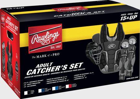 Rawlings Renegade 2.0 Catcher's Gear Set | Adult, Intermediate, Youth