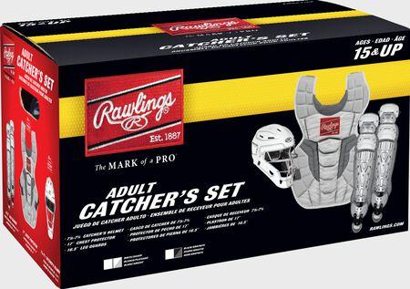 Rawlings Velo 2.0 Catcher's Gear Set | Adult, Intermediate, Youth