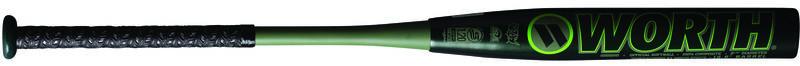 A 2021 Shannon Smith XL USSSA bat with a Worth logo on the black barrel - SKU: WSS21U