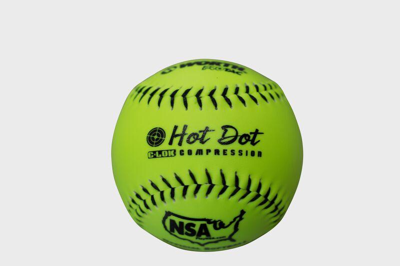 NSA 11 in Hot Dot Softballs (NO11SY)